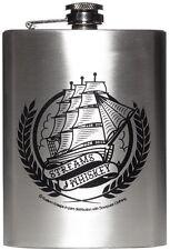 Sourpuss Nautical Ship Flask Streams Of Whiskey Tattoo Punk Navy Shot Liquor