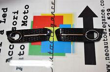AUDI A4 B8 2008-2012 GRIGLIE FENDINEBBIA CON BORDO CROMATO DESIGN RS4 S4