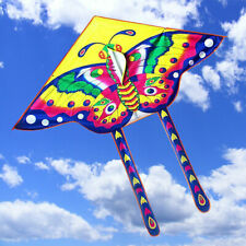2x Butterfly Kite Outdoor Children Fun Sports Single Line Kids Toy Gifts Air Fly