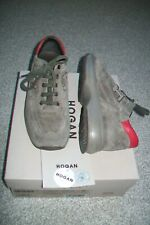 Hogan-boys green suede trainers.EU 32 kids.Slightly used.RRP 146 £.