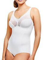 Ladies UK Size 36B - 46E Body Control Shapewear Unwired Unpadded Shaper Corset