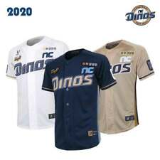 KBO NC Dinos Official Baseball Jersey 2020 Official Home Uniform M to XL Marking