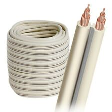 AudioQuest G2 Bulk Speaker Cable with White Jacket (50FT Spool)