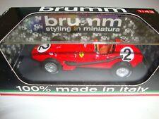 1:43 BRUMM R068 MIKE HAWTHORN FERRARI D246 BRITISH GP 1958 WORLD CHAMPION