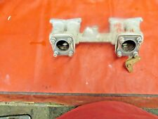 Triumph TR4, TR3, Original Intake Manifold c/ Bell Crank, !!