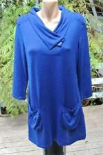 Regular Size Polyester Solid Tunic Tops and Blouses for Women