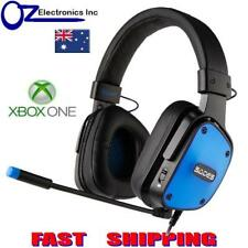 SADES DPOWER Black XBOX One Gaming Headset Mic Chat BRAND NEW Genuine GD