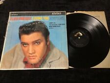 ELVIS PRESLEY LP LSP-1515(e) LOVING YOU RARE SILVER TOP STAGGERED STEREO SHRINK