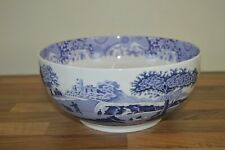 "Spode Blue Italian 10.5"" / 27 cm Serving / Salad / Fruit Bowl BNWT"