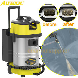 Engine Intake System Carbon Deposit Clean Walnut Blasting Decarbonizing Machine