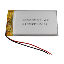 3.7V 900 mAh Polymer Li battery Li-Po For Mp3 MP4 GPS ipod DVD Tablet PC 383562