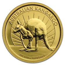 2011 1/10 Gold Perth Mint Coin - Australian Nugget/Kangaroo #2