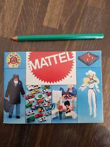 Catalogue Jouet Mattel 1981