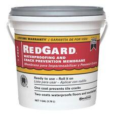 RedGard Ready-to-use Elastometric Waterproofing Membrane 1 - Gallon  - NEW