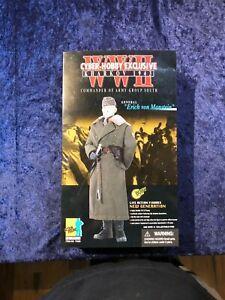 """Cyber-Hobby WWII 1/6 General """"Erich von Manstein"""" Army Group South Karkov 1943"""
