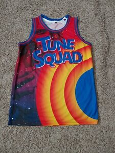 Space Jam Men's Basketball Custom Tune Squad Jersey #6  A New Legacy... Sz Large