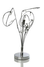 KLiving Bremen Modern G9 Halogen Curly Crystal Table Lamp