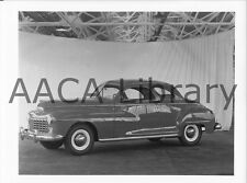 1946 Dodge D24 Custom Series Club Coupe, Factory Photo (Ref. # 38562)