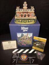 Lilliput Lane Walt Disney Memories of the Magic Kingdom Rare Double Signed!