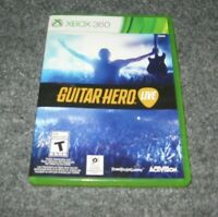 Microsoft Xbox 360 Guitar Hero Live Video Game Only Both Disc's Excellent