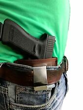 Brown Leather IWB Gun Holster For Hi-Point 40 45