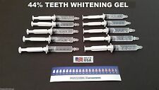 10 Teeth Whitening Syringes 44% Carbamide Peroxide Whitening Gel Refill USA