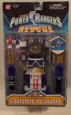 Power Rangers Lightspeed Rescue Deluxe Lightspeed Solarzord Micro Playset (MOC)