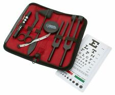 7pc Tactical Black Diagnostic Kit, Tuning Forks, Taylor Hammer, Bandage Scissors