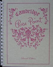 Book: Cambridge Rose Point Reference Book by Mark Nye