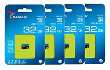ADATA 32GB Micro SD Card SDHC MicroSD Memory 85MB/s for Samsung LG Android Lot 4