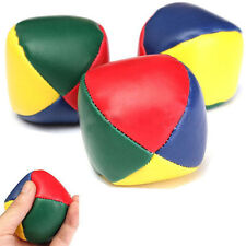 3 pcs Juggling Balls Classic Bean Bag Juggle Magic Circus Beginner Kids Toy A