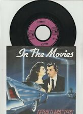 """Gerald Masters - In the Movies/Germany 7"""" SINGLE-NEAR MINT - 1984"""