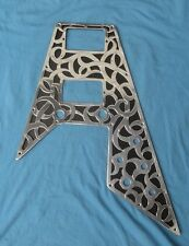 Metal guitar Pickguard fits Gibson or Epiphone Flying V  scratchplate 67 Reissue