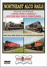 Northeast Alco Rails Livonia Avon & Lakeville Western NY & Pennsylvania DVD NEW