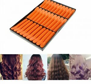 Wave Fluffy Root Folder Hair Styling Tool Salon Perm Bar Rods Punta Hot Clips