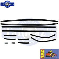 71-2 Charger Super Bee Top Catwhiskers Window Felt Fuzzies WindowFelt Kit