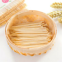 200PCs/ Bag Disposable Wood BambooToothpicks For Home Restaurant Hotel HF