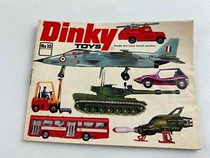 Vintage 1974 No 10 DINKY Toys Collectors Catalog Booklet Guide 47 Pages, Cars