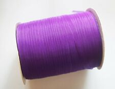 15 Meters Sheer Organza Ribbon - Dark Orchid - 7mm