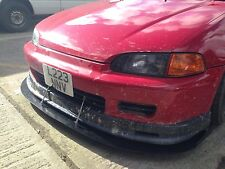 STUKE FRONT SPLITTER LIP EG EG6 VTI (CIVIC CUP) ALUMINIUM DOWNFORCE CANARDS