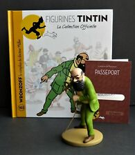 "LARGE TINTIN FIGURINE ""OFFICIAL COLLECTION"" #M103 WRONZOFF LE COMPLICE DE MÜLLER"