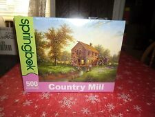 Jig Saw Puzzle Springbok Country Mill 500 Pieces Sealed Not Open Lot#m2