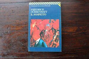 Il sospetto  Friedrich Durrenmatt  Feltrinelli 1998
