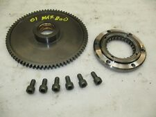 2001 SUZUKI MARAUDER 800 VZ800 STARTER CLUTCH + MOUNTING BOLTS - GOOD THREAD