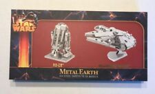 Star Wars Metal Earth Millennium Falcon and R2-D2 3D Model