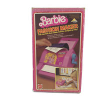 Vintage 1980 Barbie Doll Art Toy Fashion Maker Superstar Faces Carbon Plates