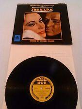THE V.I.P.S O.S.T LP EX ( + ) !!! UK 1ST PRESS MGM MIKLOS ROZSA TAYLOR BURTON