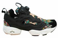 Reebok Instapump Fury SC Womens Hi Trainers Mid Slip On Shoes Black BD3095 B12A