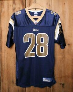 REEBOK On-Field St. Louis Rams Marshall Faulk #28 Football Jersey Youth Sz. XL