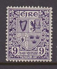 "IRELAND, Scott #115: 9d, Mint, 1940-68 ""E"" wmk definitives"